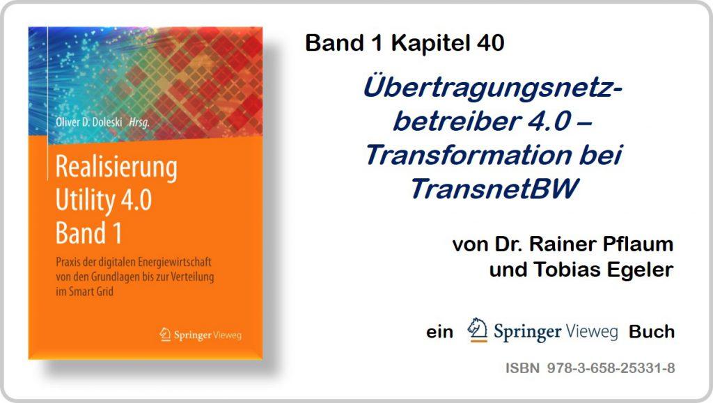 Realisierung Utility 4.0 Band 1 Kapitel 40