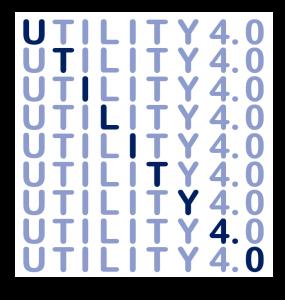 Utility 4.0 Wortbild